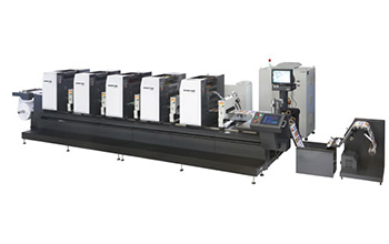 ZTJ-330 PS Plate Intermittent Offset Label Printing Machine
